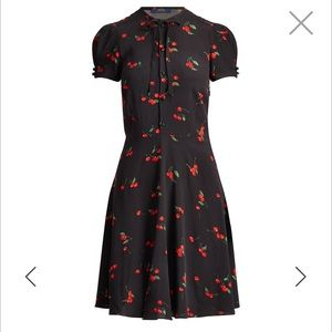 NWT $ 149.99 Ralph Lauren cherry dress